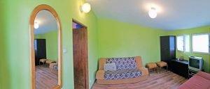 Duży pokój, widok na jezioro Czos