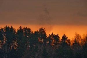 Mazury wschód słońca